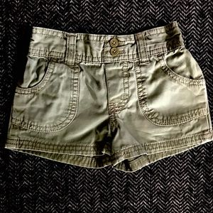 5 for $20 Khaki shorts  size 24m.